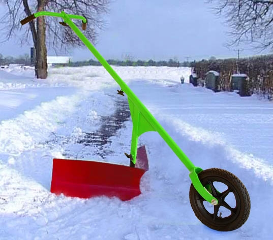 skotta gångar lätt i snö i t.ex. trädgård eller parker
