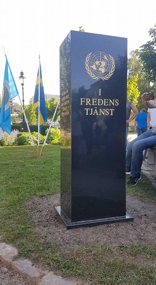 Minnesstenen i Sundsvall. Foto: Kim Svensson