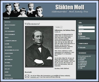 Släktmatrikeln - www.mollfamily.com