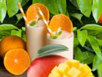 Slanka milkshake: Apelsin Mango