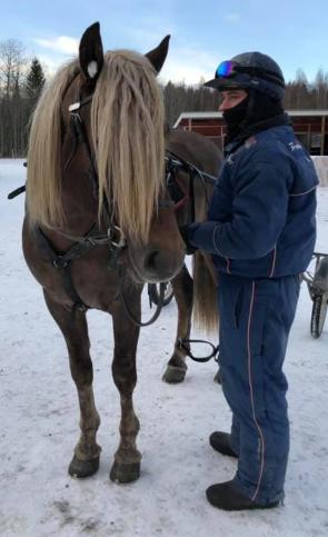 Clement tillsammans med Klockar Rune.
