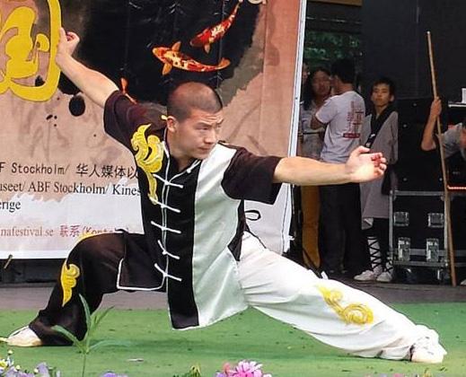 Weitao Xing, instruktör shaolin