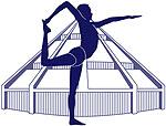 Logotypen visar att läraren är utbildad och certifierad inom Iyengar yoga metoden. För att få använda symbolen krävs också att läraren kontinuerligt vidareutbildar sig och utvecklas i sin yogapraktik