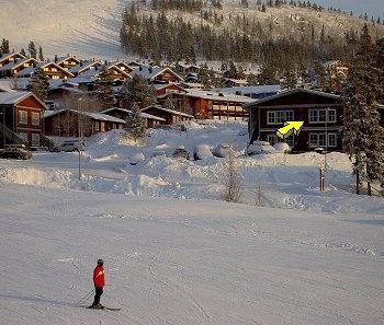 Ski-in ski-out läge