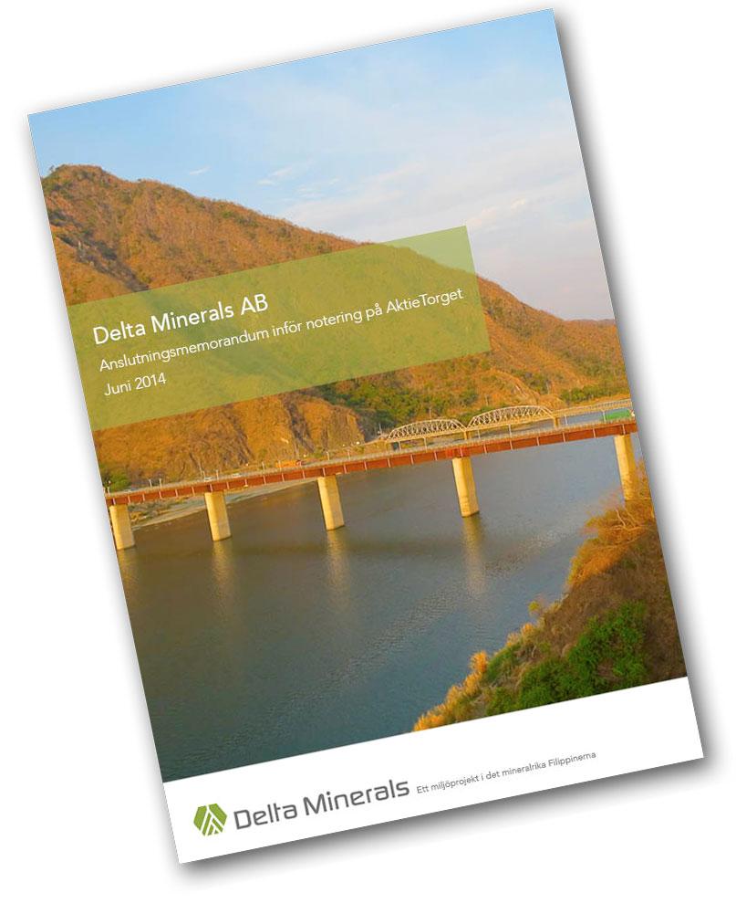 delta minerals aktiekurs