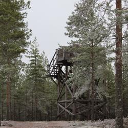 Luftvärnstorn för 20 mm lvakan