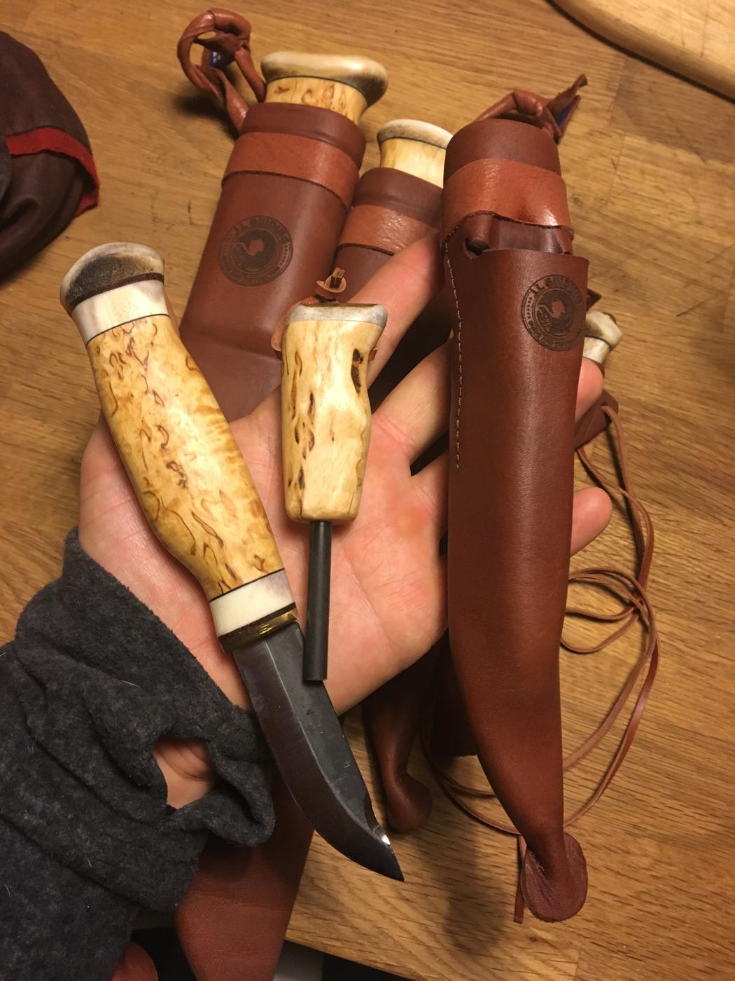 J.L.G Fire Knife