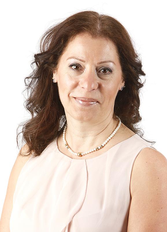 Vår nya ordförande Marcelle Farjallah