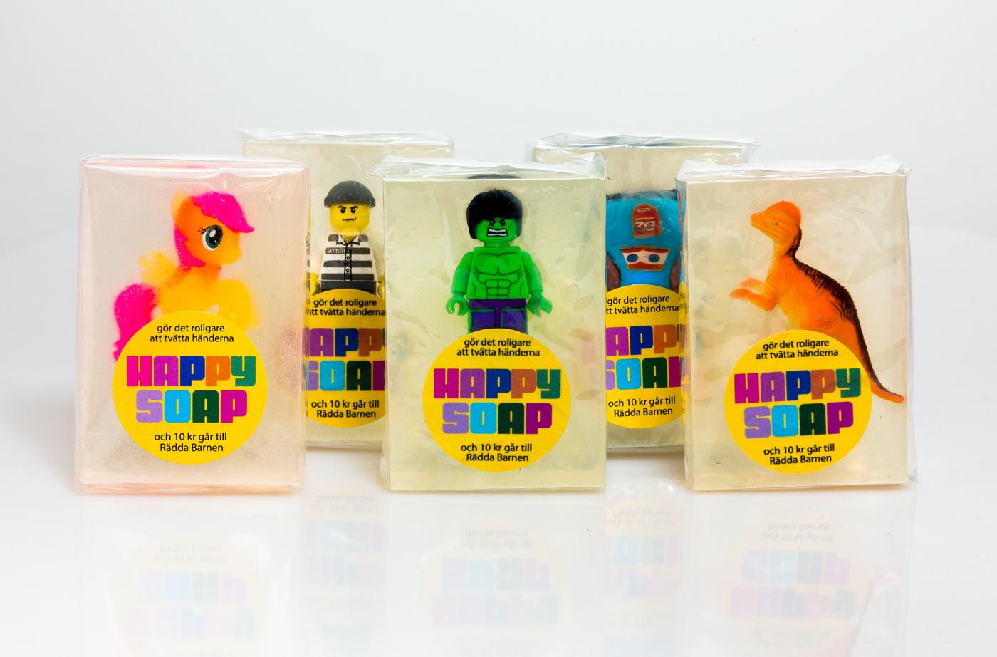 Happy Soap Lego - Glada Grejer - Tant Sofia