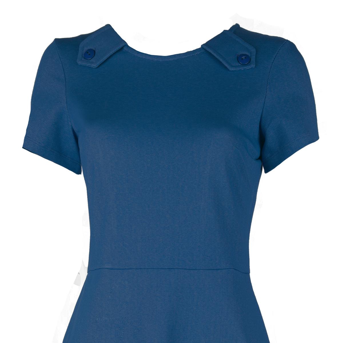 Tant Sofia - Johnny klänning blå, WTG