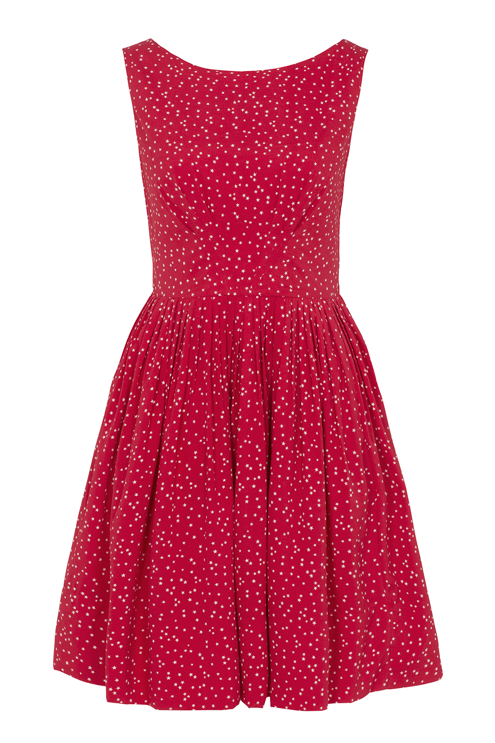 Abigail dress, red stars - Emily and Fin