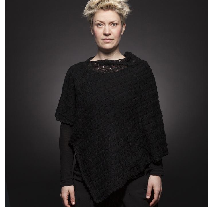 Tant Sofia - Poncho, Knätofs