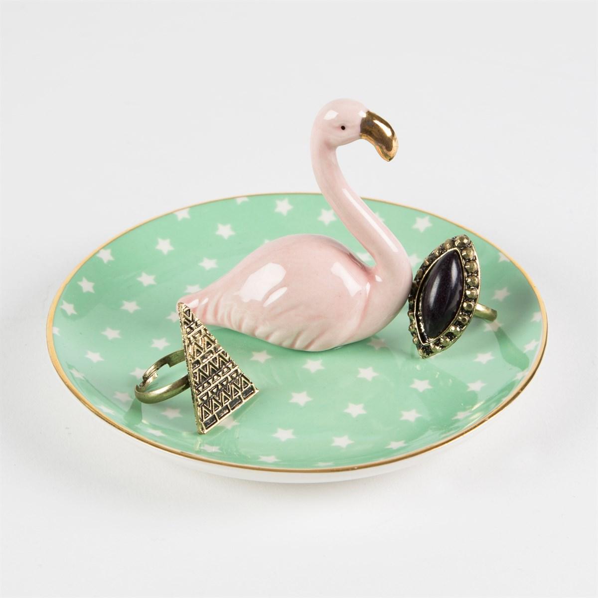 Tant Sofia-Smyckesfat Flamingo