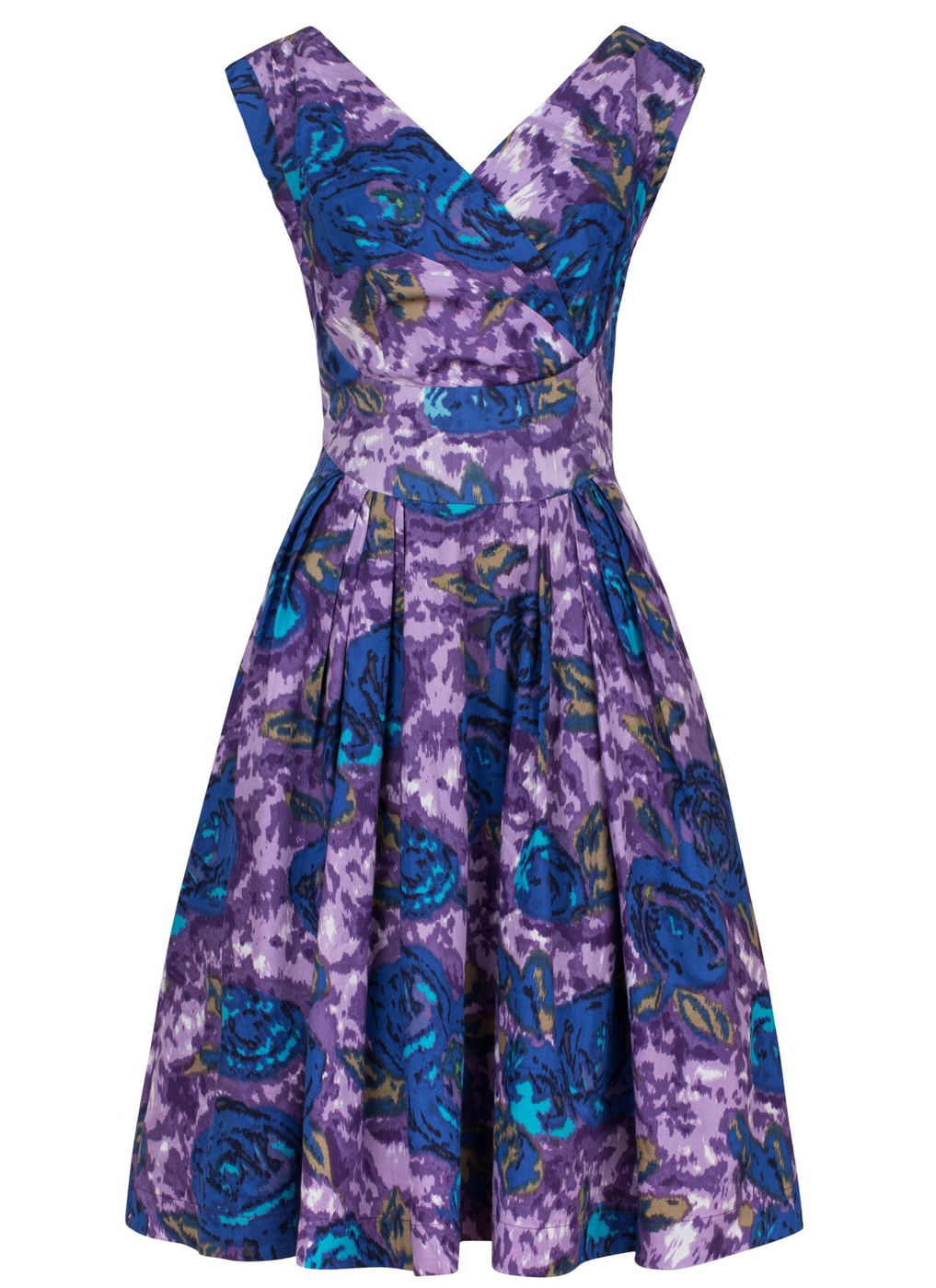 Tant Sofia-Florence dress, Purple sketchy floral, Emily and Fin