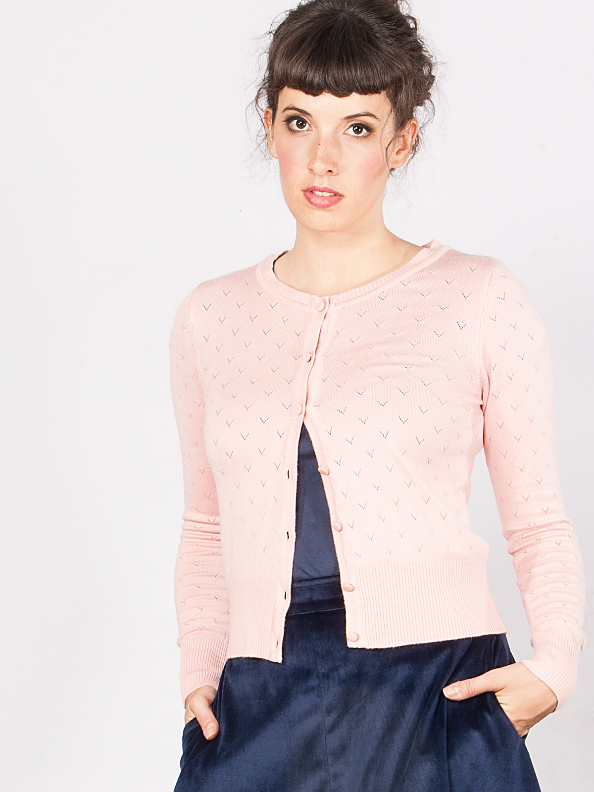 Tant Sofia-Lovelyn Cardigan Blush, Mme YèYè