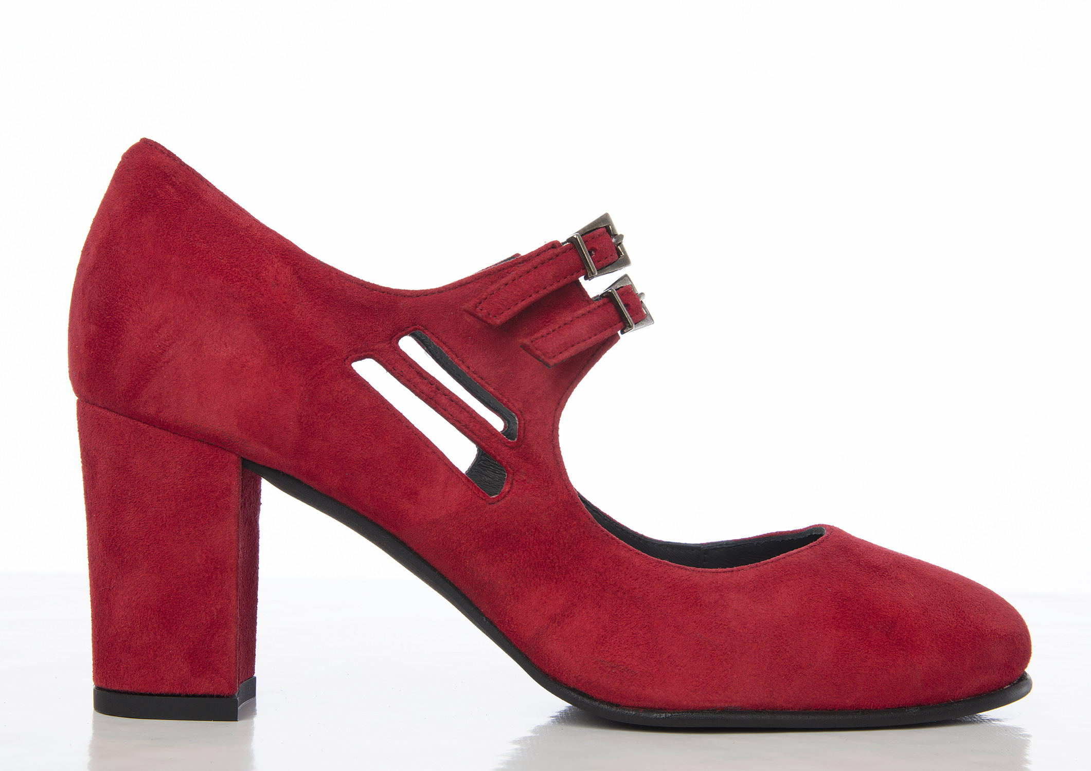 Tant Sofia-Liv Red suede - Nordic Shoepeople