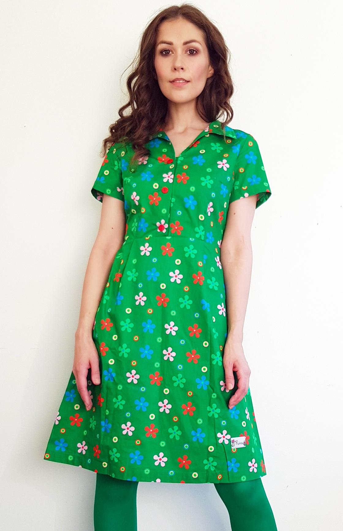 Tant Sofia-Smultron grön blomma, Rino
