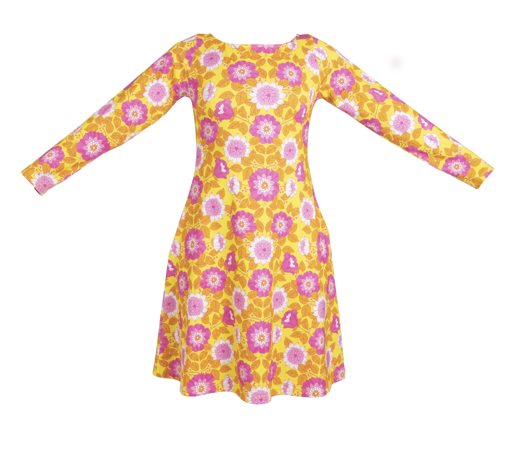 Tant Sofia-Feel Good Dress, sunflower - Vintage in my heart
