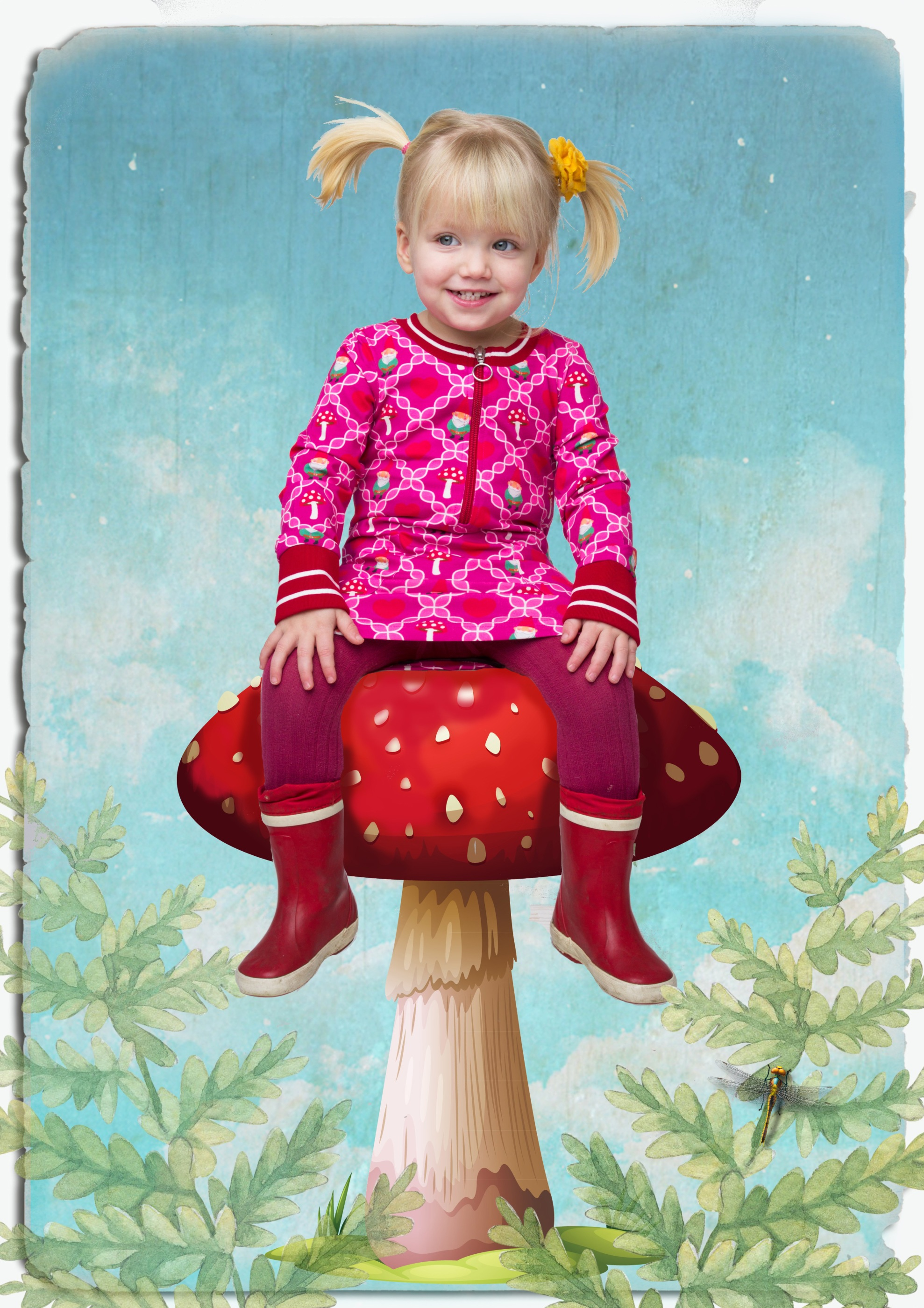 Tant Sofia - Pepper Dress Gnome girl - Tante Betsy