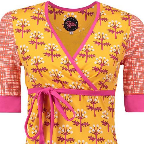 Tant Sofia-Dress Garden gold, Tante Betsy