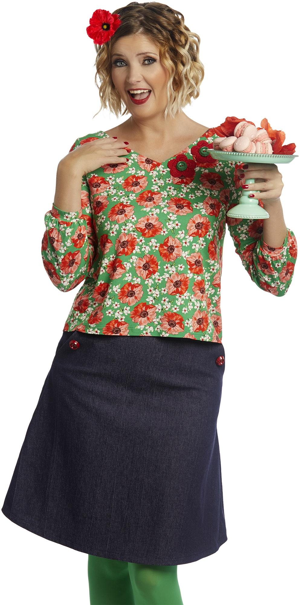 Tant Sofia-Mary poppies, duMilde
