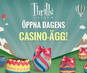 Påskkalender med gratissnurr hos Thrills!