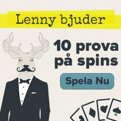 Hämta 10 exklusiva freespins hos SuperLenny!