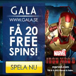Gratis frisnurr hos Gala Casino!