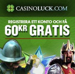 Ta erbjudandet hos CasinoLuck!
