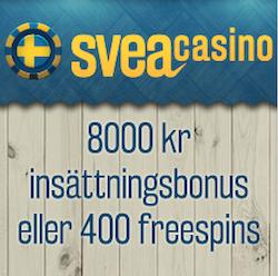 Börja spela hos Svea Casino!