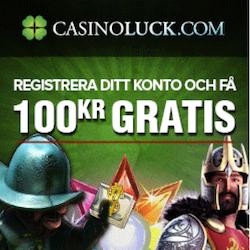 Spela utan kostnad hos CasinoLuck!