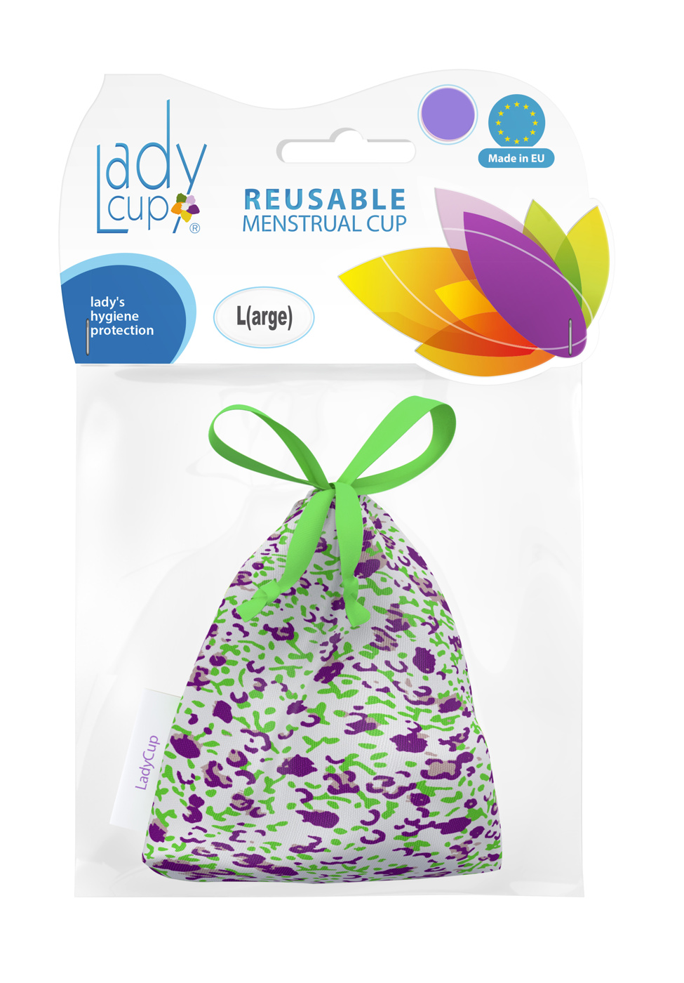 ladycup-menskopp-summer-plum-plaastförpackning