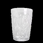 Swirly Embossed Glass Acrylic - Swirly Embossed Glass Acrylic white