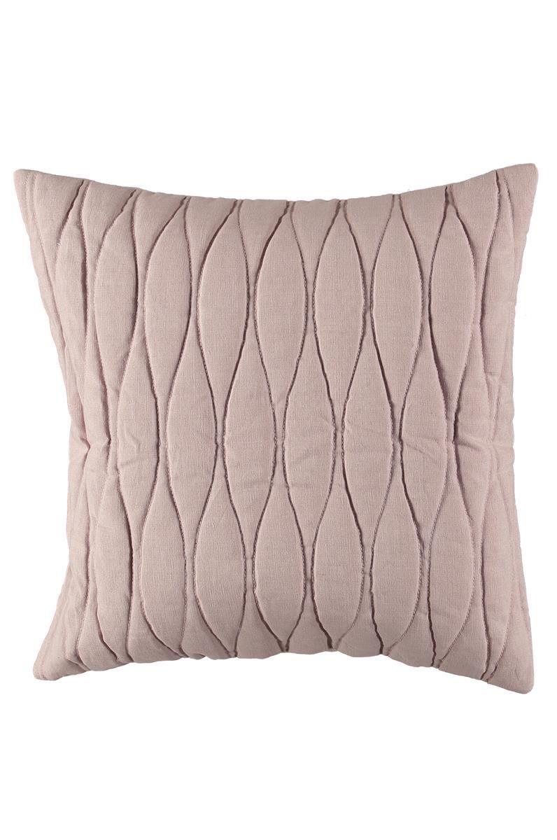Kuddfodral Quiltad pink liliac