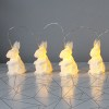Ljusslinga origami kaniner