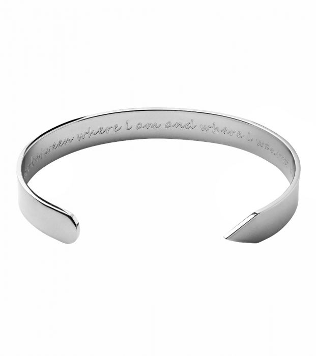 Armband Thoughts steel