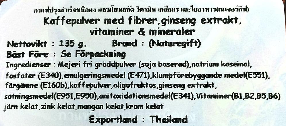 Naturegift Coffee Plus Original