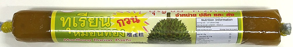 Boonchai Durian Paste 100g