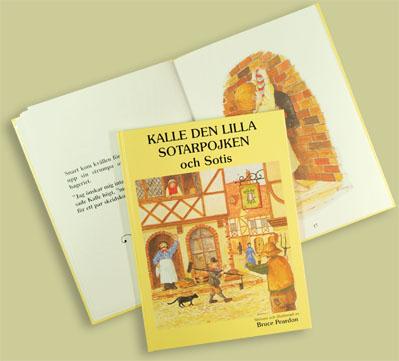 Bok/Book: Kalle den lilla sotarpojken och Sotis - Bok/Book: Kalle den lilla sotarpojken och Sotis