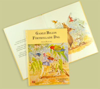 Bok/Book: Gamle Billys förtrollade dal - Bok/Book: Gamle Billys förtrollade dal