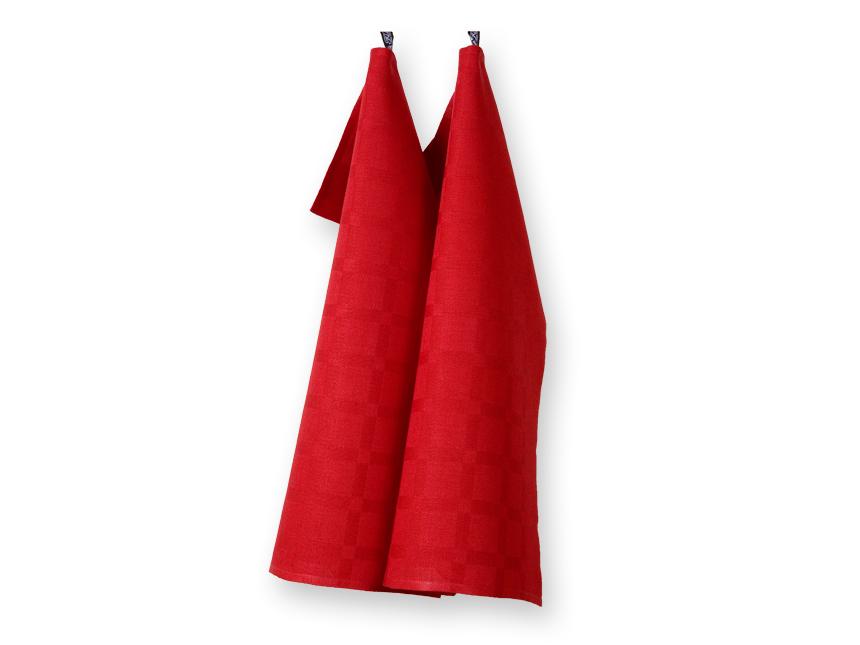 Dylta röd handduk