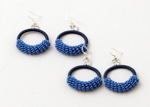 Örhänge Blue Tones