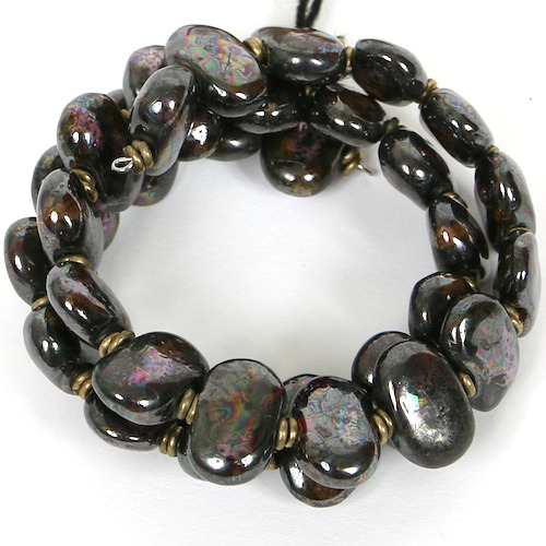 Bracelets Flat - Bronze Mix m.o.p. armb