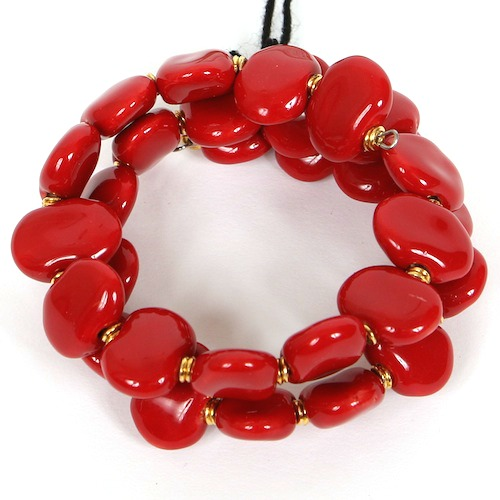 Bracelets Flat - Bright red