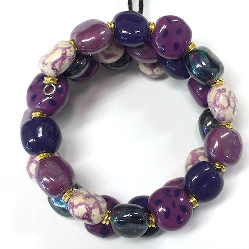 Bracelets smarty- Violet hot
