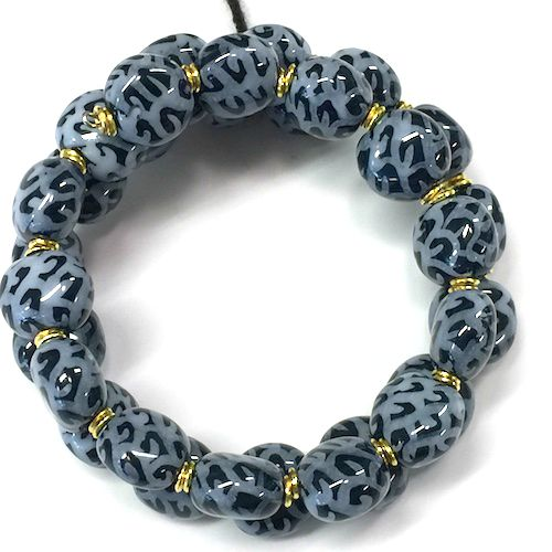 Armband Smarty - Midnight Blue/White (Light Blue)