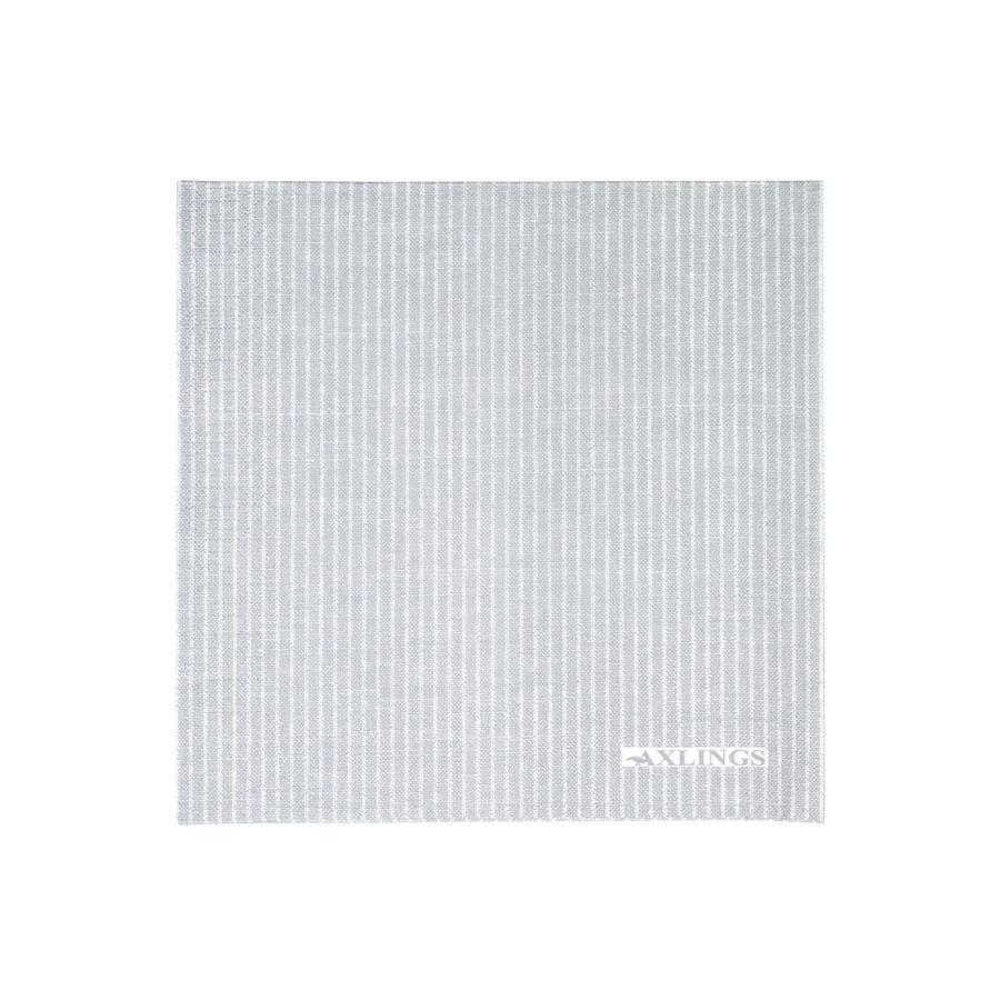 Pappserv ljusgrå vit