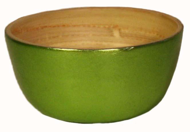 Bambuskål Liten grön