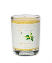 Doftljus i glasburk/Scented candles in glass jar - Tru Mélange - APHRODISIA - Doftljus i glasburk/Scented candles in glass jar