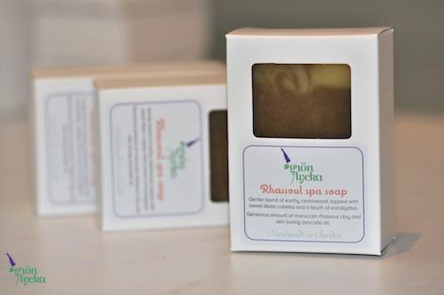 Rhassoul spa soap3